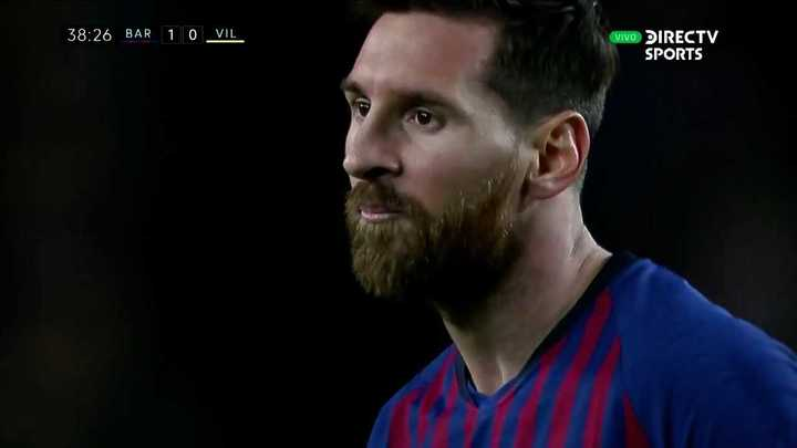 Messi estuvo cerca