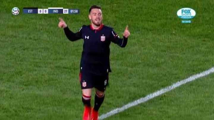 González marcó el primero del Pincha