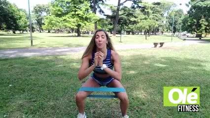 Juli Sagaseta nuestra coach de glúteos y una rutina intensa para potenciarlos
