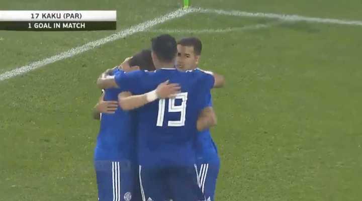 El empate 1 a 1 entre Paraguay y Eslovaquia