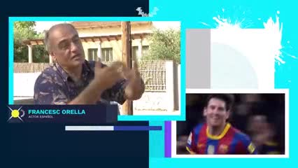 Los elogios de Francella y Merlí hacia Messi