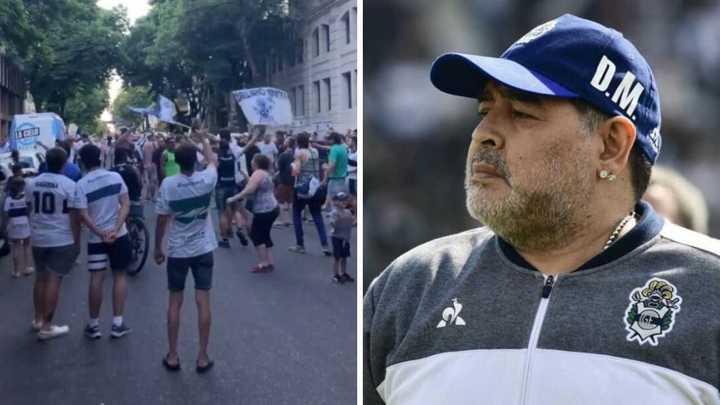 Reclaman por la continuidad de Maradona