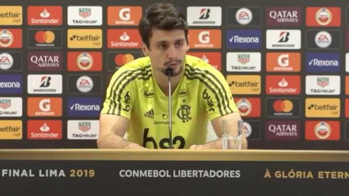 "Rodrigo Caio dijo que River hace ""catimba"""