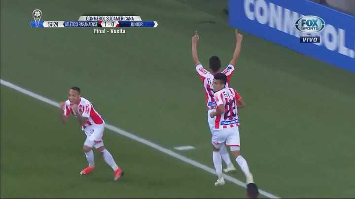 Teo Gutiérrez convirtió el empate de Junior