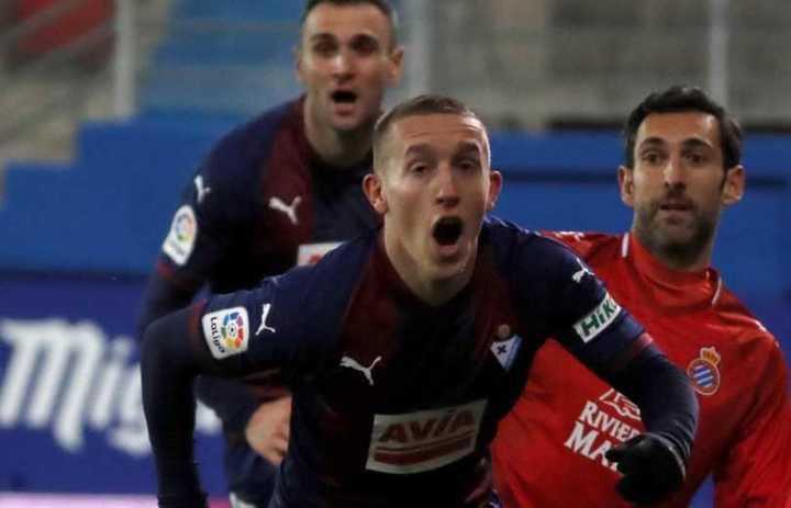 El gol de De Blasis para el Eibar