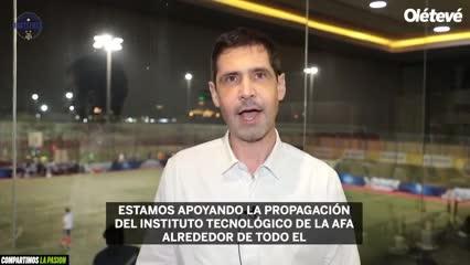Las academias de AFA y la embajada argentina en EAU
