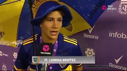 La palabra de Lorena Benítez, la mejor de la final