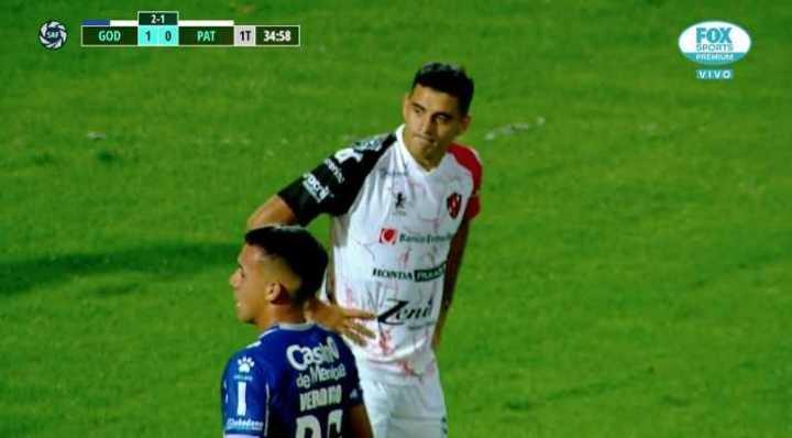Ramírez impidió el gol Berterame