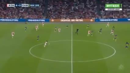 El Ajax le ganó 9-0 al Cambuur