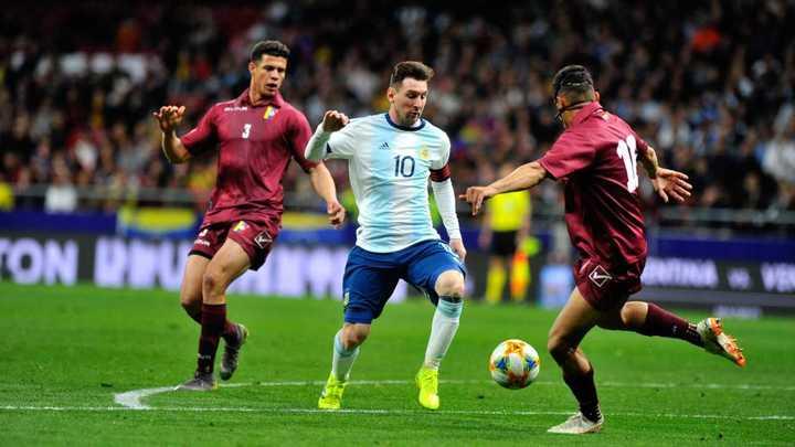 El partido de Messi ante Venezuela