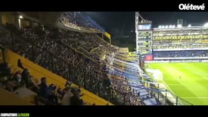 La Bombonera cantó por Maradona
