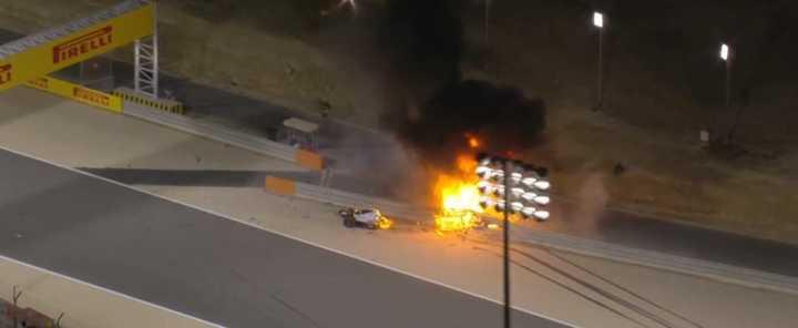¡Susto y fuego en la F1!