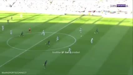 Los cinco primeros goles de la goleada del PSG