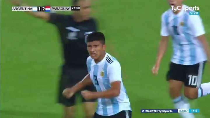 El 2 a 2 de Argentina