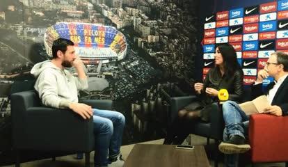 Messi habló de Lautaro.