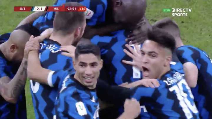 El Inter lo dio vuelta con gol de Eriksen