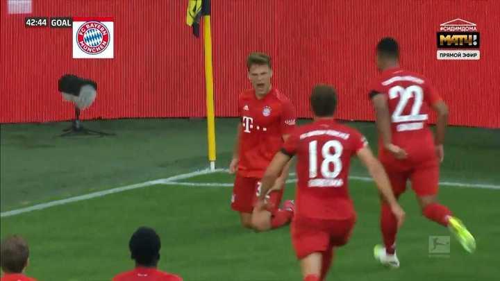 El golazo de Kimmich que puso en ventaja al Bayern