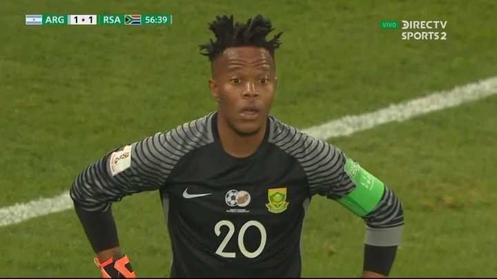 Khubeka evitó el segundo de Argentina