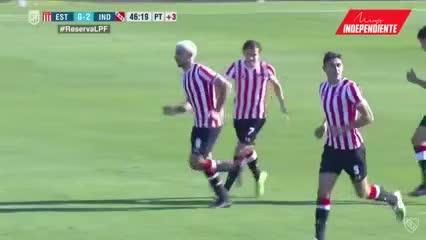 El gol del hijo de la Brujita a Independiente