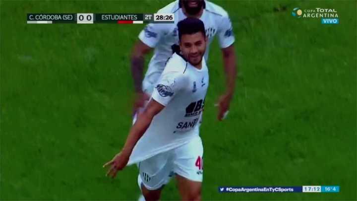 Gervasio metió el gol del triunfo para Central Córdoba