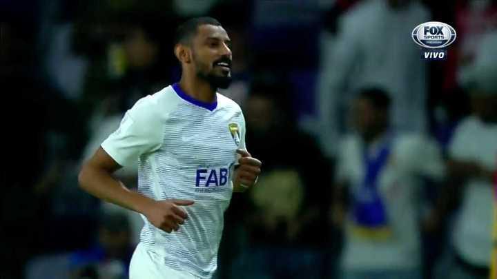 Ahmad metió el primero del Al Ain