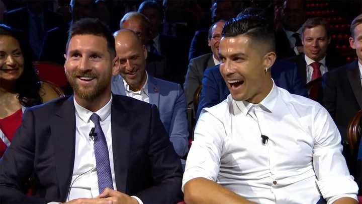 La buena onda entre Cristiano y Messi