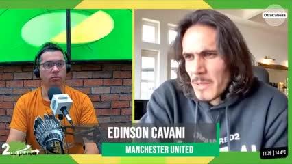 Cavani reconoció la oferta de Boca y el anticipo de Olé