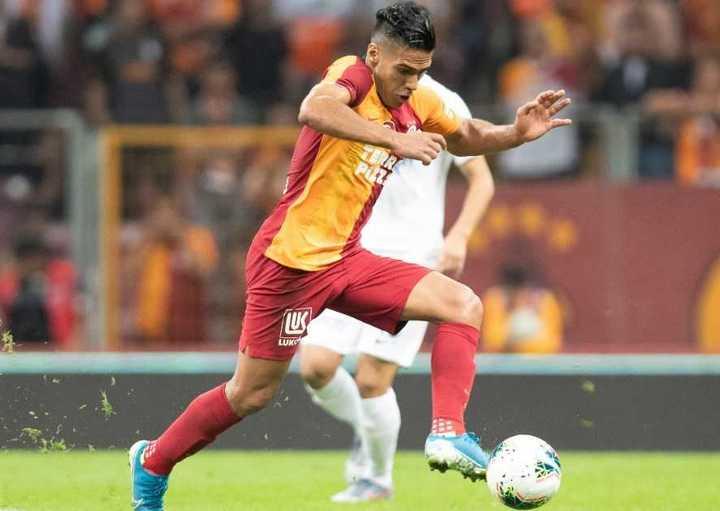 El gol de Falcao para el Galatasaray