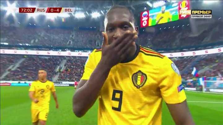 Goleada de Bélgica
