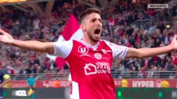 Los goles del partido Reims vs. PSG