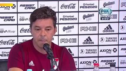 Gallardo anunció su continuidad en River