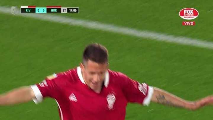 El gol de Huracán: de contra en 15 segundos