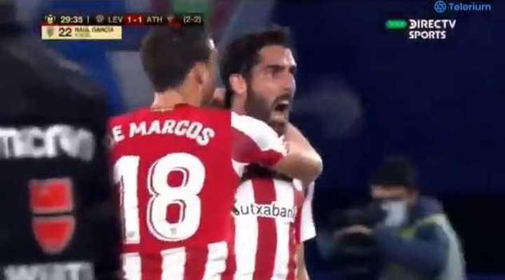 Los goles del triunfo del Athletic Bilbao por 2-1 ante el Levante