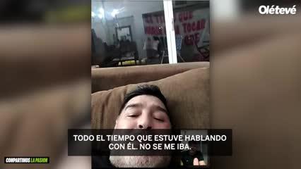Pájaro Lietti nos cuenta su experiencia con Maradona