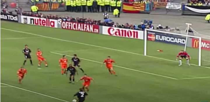 Los goles de la final de la Champions 2000 entre Real Madrid y Valencia (@realmadrid)