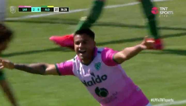 Sarmiento convirtió el 3-0