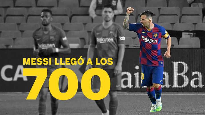 Messi 700