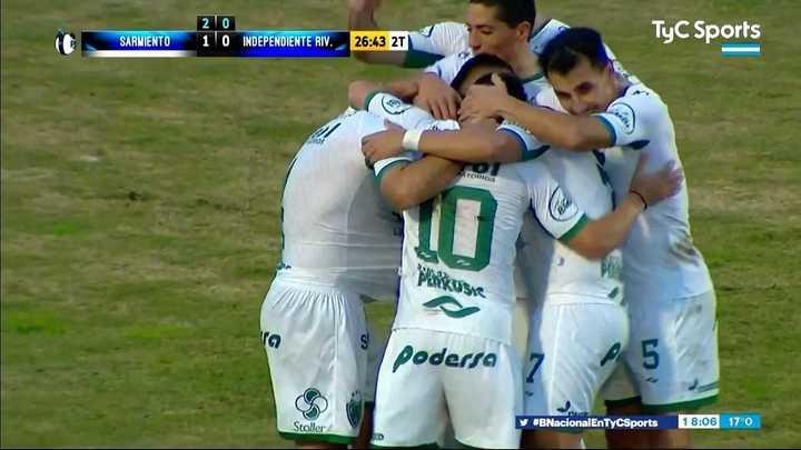 Sarmiento le ganó a Independiente Rivadavia y clasificó a la final del reducido