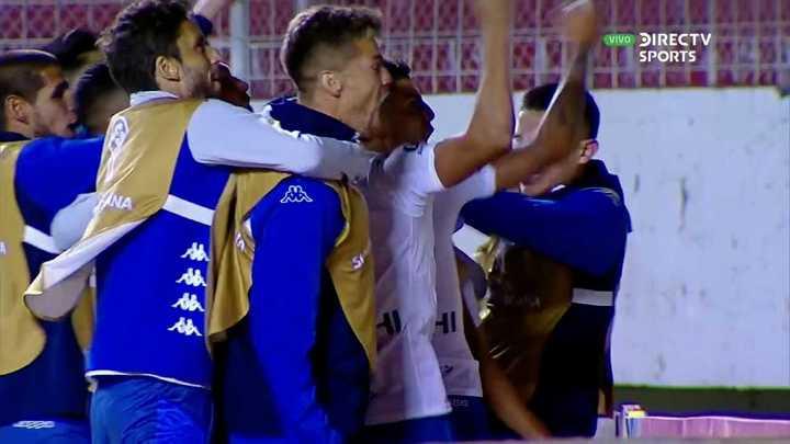 Almada hizo el penal de la clasificación