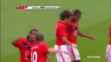 El gol de Valencia a Boca