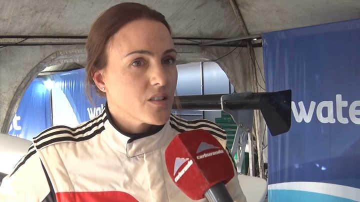 La mujer del Top Race