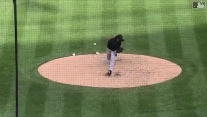 La pelota de beisbol le rompió la muñeca
