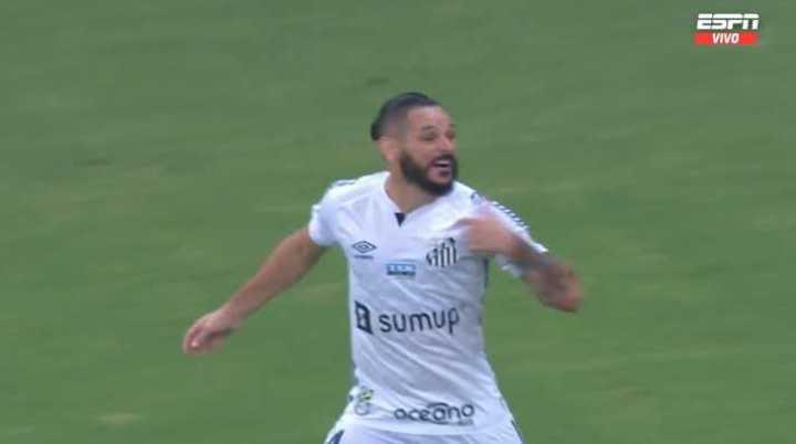 Pará el 2 a 0 de Santos