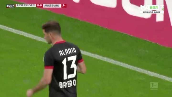 Leverkusen ganó 3 a 1 con un doblete de Alario