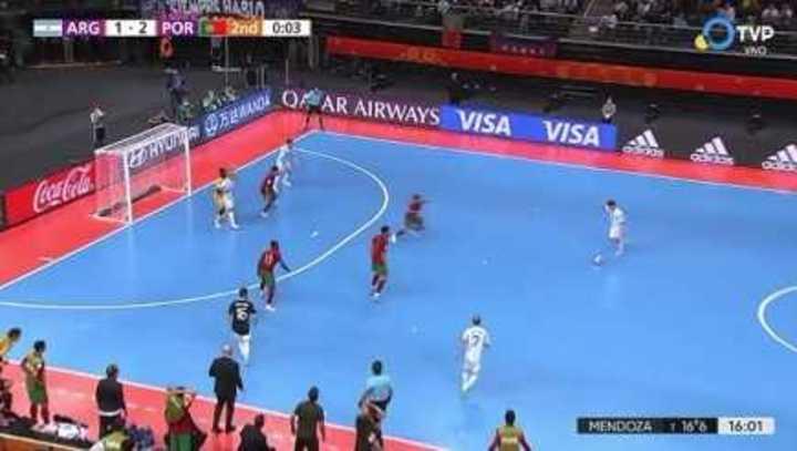 Argentina lo tuvo en el final