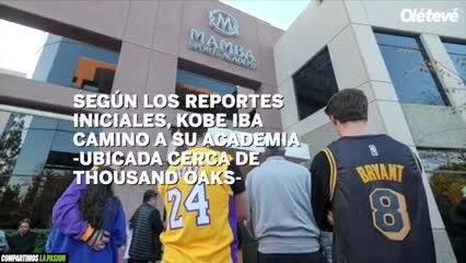 La muerte de Kobe Bryant