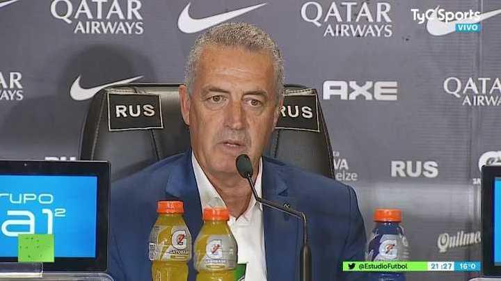 """Alfaro: """"No hay problema si no tenemos a Nández y Marcone"""""""