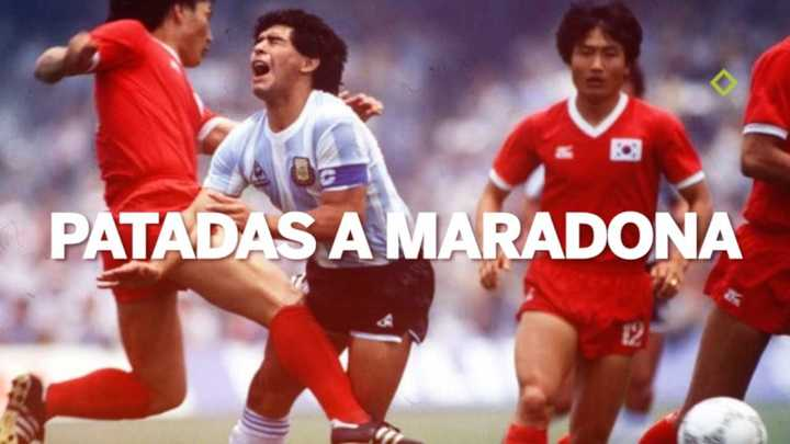 Patadas a Maradona