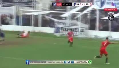¡Un gol idéntico al del Pity!