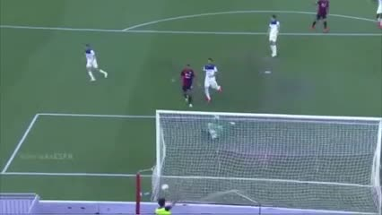 El gol anulado a Simeone